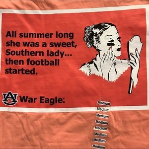 Auburn Tigers 🐅 - Spirit Tee WAR  EAGLE 🦅